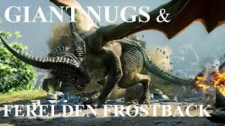 Dragon Age: Inquisition - Giant Nug Mounts [Mysterious Box] & Ferelden Frostback Dragon