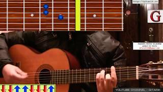 Баста - Выпускной (Разбор на гитаре, оригинальные аккорды)