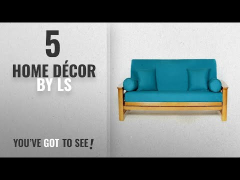 Top 10 Home Décor By Ls [ Winter 2018 ]: LS COVERS TEAL FULL FUTON COVER, Full Size Fits 6-8in
