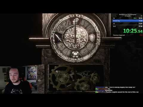 Resident Evil REmaster Speedrun - Jill Any% DoorSkip - 57:21
