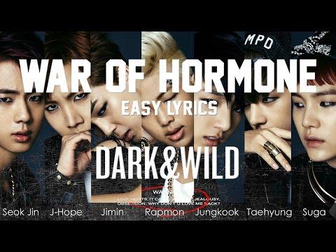 BTS - War Of Hormone [EASY LYRICS]