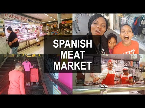 Follow me to a Spanish Meat & Fish Market   Flo Chinyere