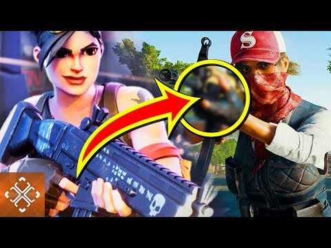 10 Big Similarities FORTNITE and PUBG