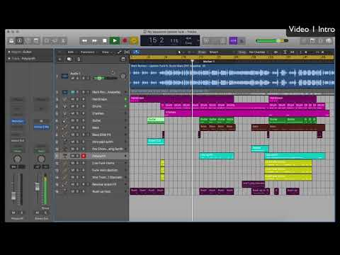 Sequence Uptown Funk With Logic Pro X - Video 1: Intro