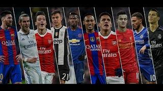 Best Football Skills mix 2017 ● Messi ● Neymar ● Ronaldo ● Hazard ● Pogba & More HD