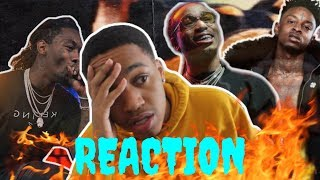 21 SAVAGE, METRO BOOMIN, OFFSET & QUAVO - RAP SAVED ME - REACTION