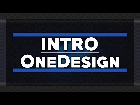OneDesign - Fan-/Friend-Intro [by Draksmotion]
