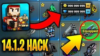 Pixel Gun 3D 14.1.2 IOS & ANDROID Hack/Mod Unlock Every Gun, Crafted Weapon & Unlimited Gems/Coins