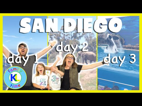 3 Days In San Diego | MEGA VLOG | Southern California Vacation