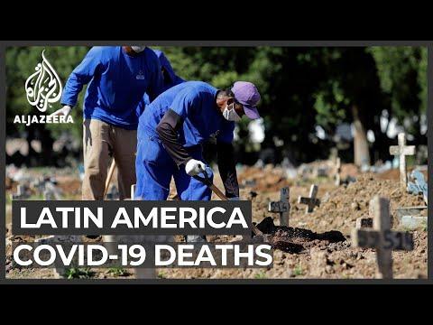 Brazil, Mexico Coronavirus Deaths Hit Daily Record