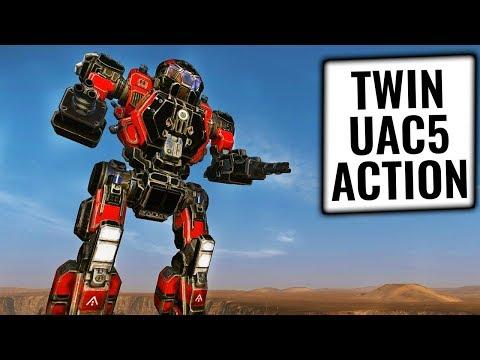 UAC5 DOUBLE TROUBLE!- Enforcer Build - German Mechgineering #97 - Mechwarrior Online 2019 MWO