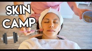My first facial experience   Skin Camp Los Angeles
