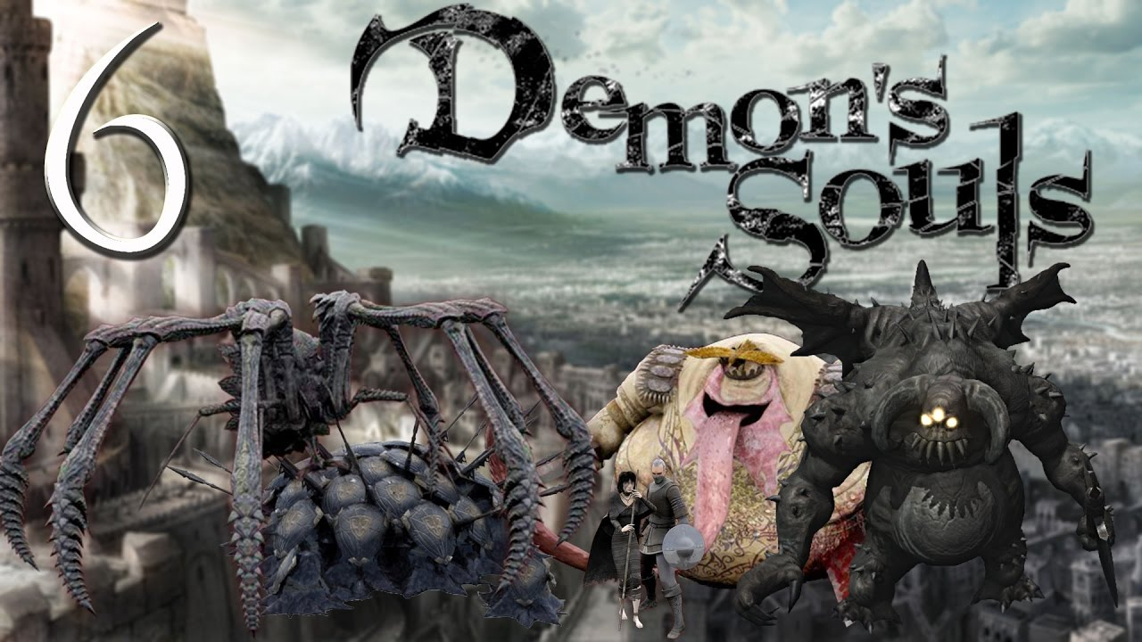 Demon S Souls Soul Level 1 Boletarian Palace 1 2 Red Dragon Tower Knight Executioner Miralda Youtube