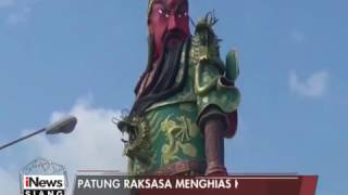 Patung Raksasa Panglima Perang, Jadi Daya Tarik Klenteng di Tuban, Jatim - iNews Siang 22/01 | iNewsTV - News