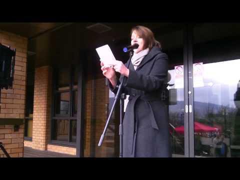 Rali'r Cyfrif Merthyr Tudful (rhan 3/4): Leanne Wood