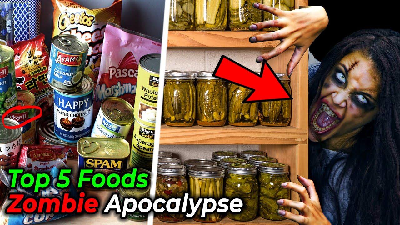 इन 5 Foods को Zombie Apocalypse में अपने पास रखना   5 Best Apocalypse Foods ?