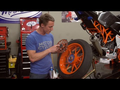 How To Check Motorcycle Wheel Bearings | MC GARAGE