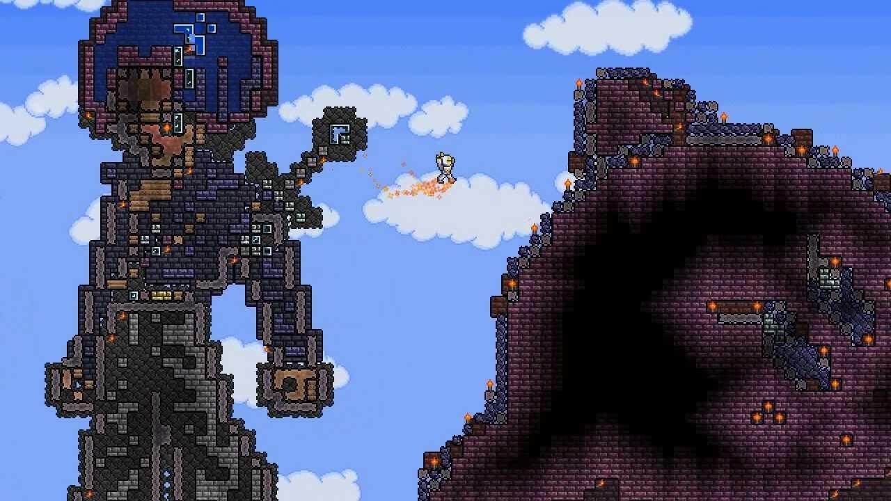 Terraria Pixel Art By Kkslida Youtube