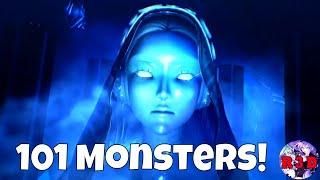 Shin Megami Tensei V - Introducing 100 | 101 Demon Monsters Gameplay Compilation (SMTV Gameplay)