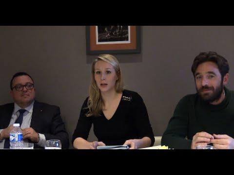 Table Ronde avec Marion Maréchal Le Pen et les agriculteurs du Vaucluse