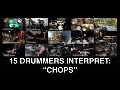 Aric Improta | 15 drummers 1 Song