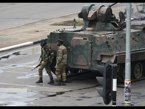 Military takes over Zimbabwe's capital, detains Mugabe, wife and top officials