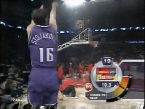 Pedja Stojakovic NBA All Star 2003 Three Point Shootout