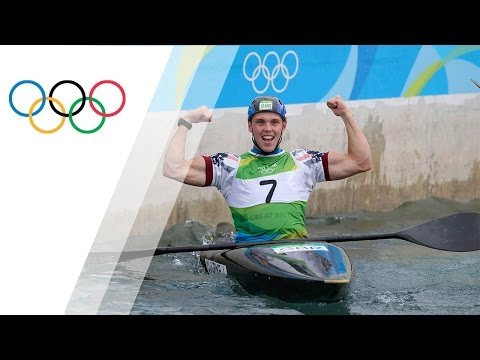 Joseph Clarke wins Gold in the Men's Kayak Canoe Slalom