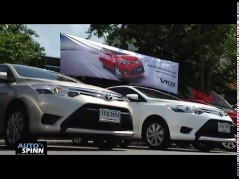 ขับทดสอบ All New Toyota Vios 2013 Group Test เส้นทาง กรุงเทพ - ชะอำ