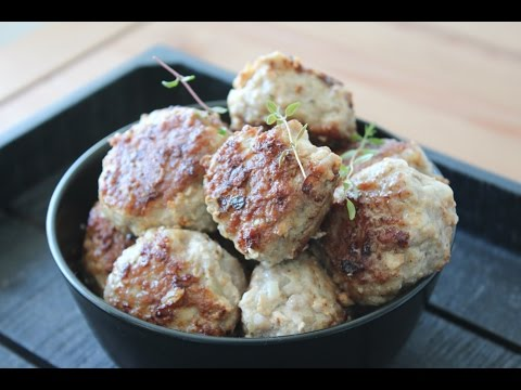 How To Make Pork Meatballs - By One Kitchen Episode 276