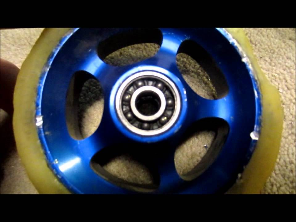 What Are Wheel Spacers >> How to Remove Bearings From a Scooter Wheel When the ...