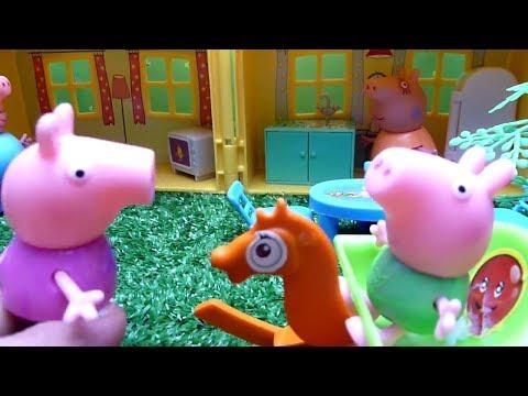 Волшебное Слово Мультик из игрушек Пеппа Волшебница Peppa pig 😊😊😊