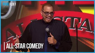 Ready to laugh? Watch Sinbad on Pure Flix All-Star Comedy