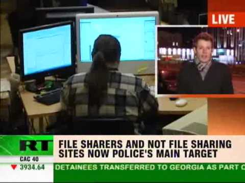 A TORRENT of crime is on the way as Russia declares war against illegal file sharing...