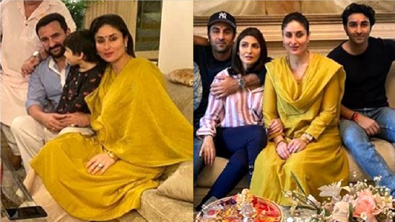 Kareena Kapoor & Ranbir Kapoor Celebrate Raksha Bandhan With Taimur Ali Khan & Kapoor Family