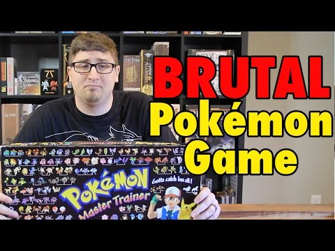The BRUTAL Pokemon Board Game - Master Trainer