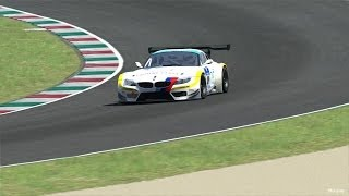 Assetto Corsa BMW Z4 GT3 Mugello Circuit Gameplay