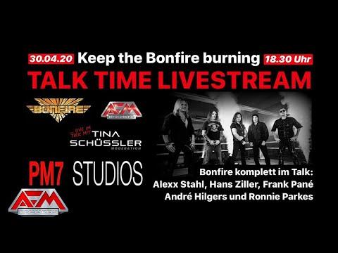 BONFIRE - Fistful Of Fire // KEEP THE BONFIRE BURNING // AFM Records