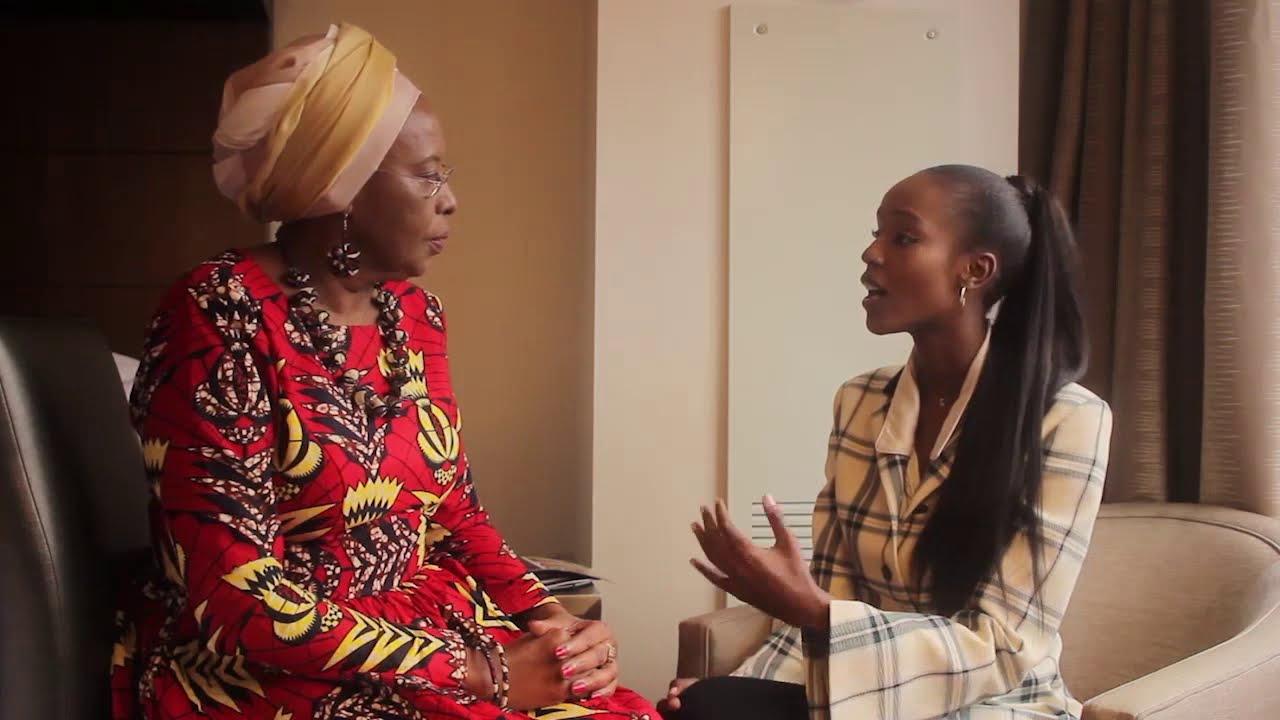 La Maison De Maggy Bondues model leila nda speaks with maison shalom's maggy barankitse - a models  interview