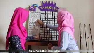 Alat Peraga Matematika (Paprolin) Program linear