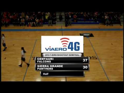Basketball - TBird Shootout - Sierra Grande Vs Centauri