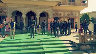 Sanskar school Rock Band performing K'naan's Wavin Flag at City Palace Jaipur with an exciting end.!