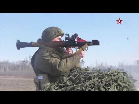 Масштабные учения артиллеристов под Рязанью