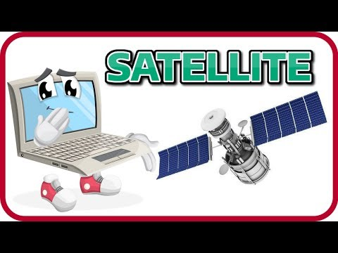 [Learn English SPACE 7] SATELLITE FACTS FOR KIDS