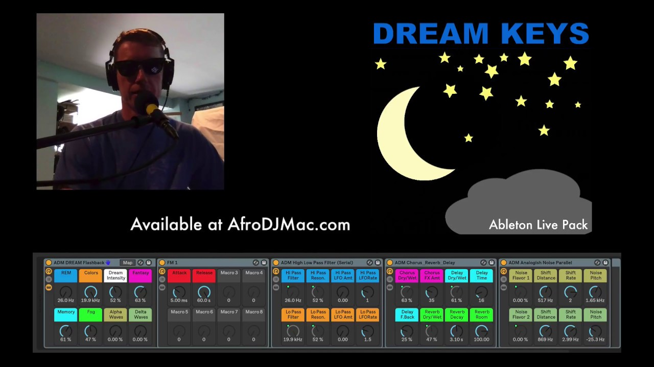 DREAM KEYS Lite Edition: Free Ableton Live Pack 170 — Brian Funk