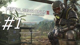 Metal Gear Online Gameplay #1