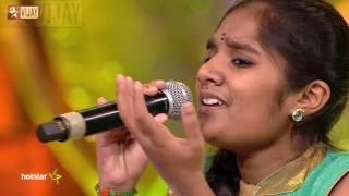 Super Singer Junior - Margazhi Thingal Allava by Shree Raksha