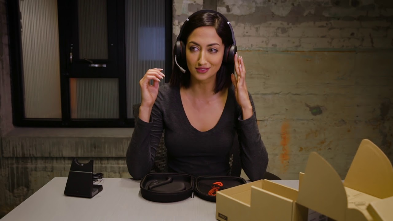 Jabra Evolve 75 Unboxing Video Youtube