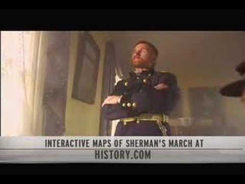 Sherman's March premieres on The History Channel, April 22