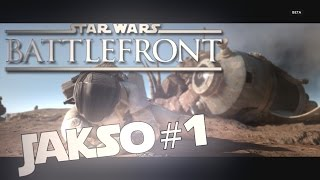 UUSAVUTTOMAT  SOTILAAT | Star Wars Battlefront Beta
